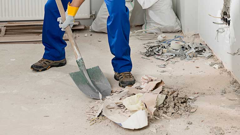 Tips on interior post-construction cleanups